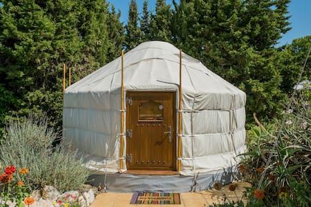 Romantic Yurt with private pool and seaview - Algarrobo - Yurt