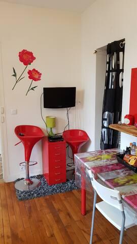 Agréable petit studio a Bondy