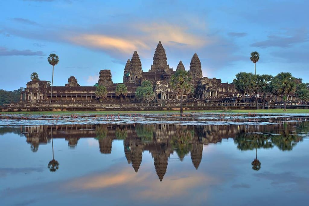 Angkor Wat 15mins away from the hotel