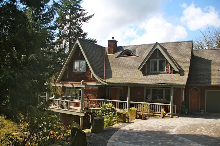 Gracious lodging in Forest Park - Portland - Bed & Breakfast