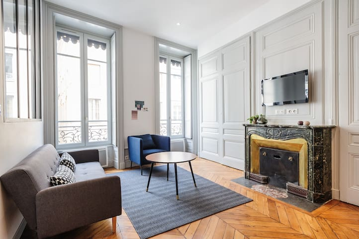 Sunny flat in the heart of Lyon