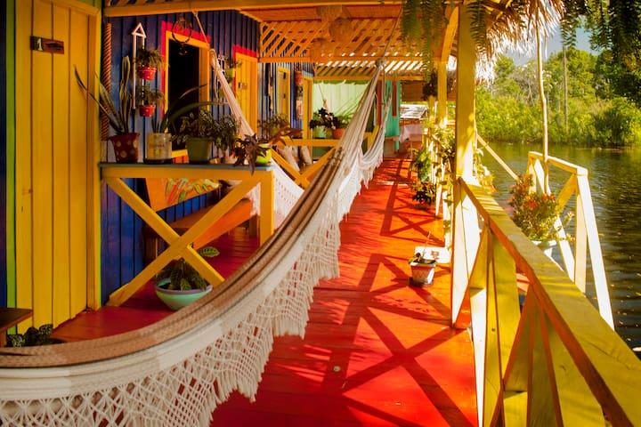 Lovely jungle lodge near Manaus - Iranduba - Wikt i opierunek