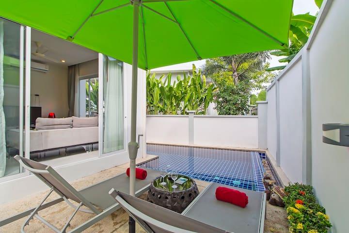 Boutique Pool Villa, 2 bedrooms, 3 bathrms, Rawai