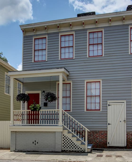 "Your own separate 2 floor home with a private entrance await you at ""As Time Goes By."""