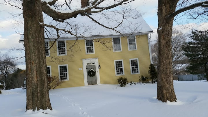 Historic CT country home, separate guest house