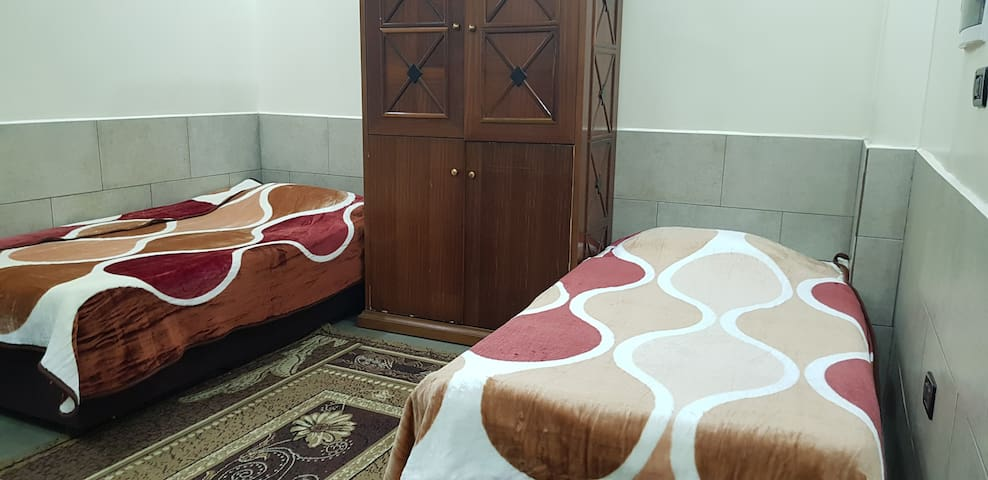 Private Double Room, Kitchenette and Bath