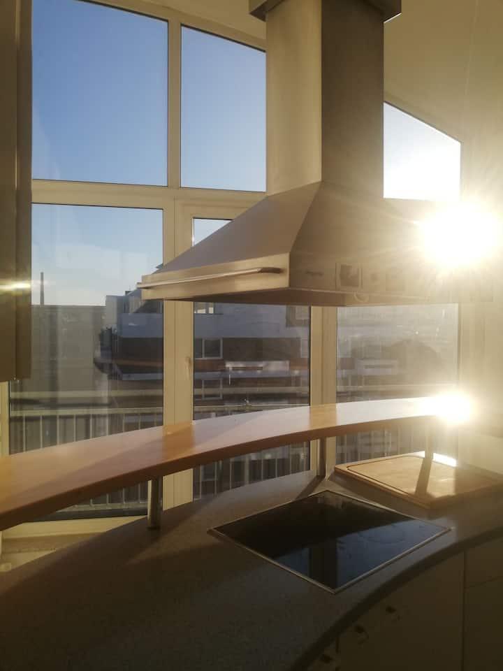 Penthousewohnung 120 qm Innenstadt+ Dachterrasse