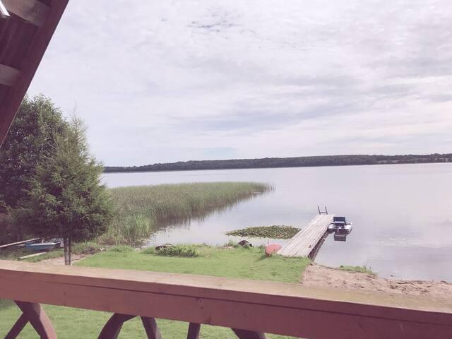 """Obelijos"" lake apartments (Sauna house bed #2)"