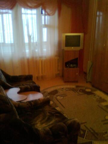 Уютная 1-комн. ул. Ю. Фучика -71 (до Центра 15мин) - Казань - Wohnung