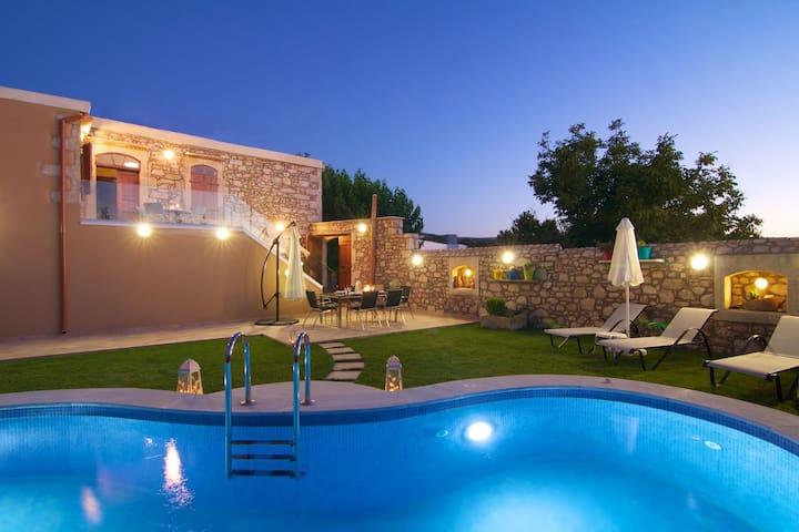 Blue Paradise villa - Tzannakiana - Huvila