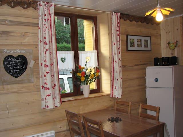 Gîte cosy, 5km des pistes - 4 pers - Villarodin-Bourget - Appartement