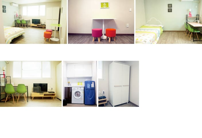 CLEAN & NEW THE BEST IN TAEJON - Taejon - Apartamento