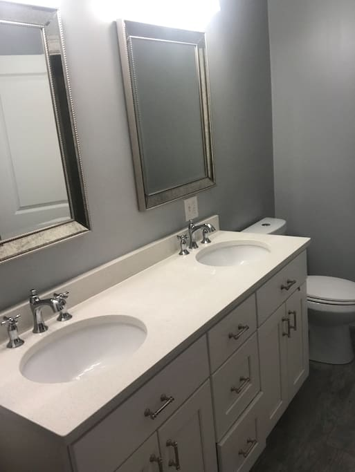 Private bathroom with full bath/shower