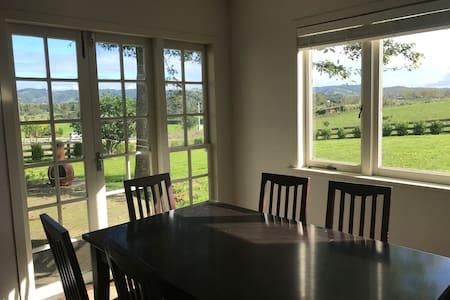 Cottage with scenic rural views - Auckland - Gästehaus