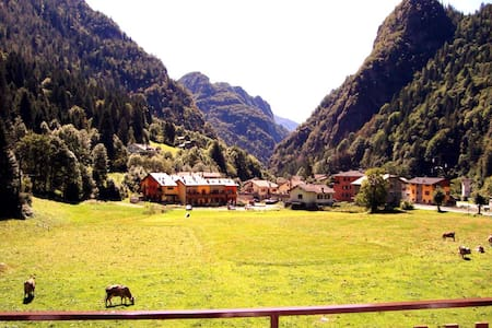 relaxing holiday on the Alps - Trabuchello