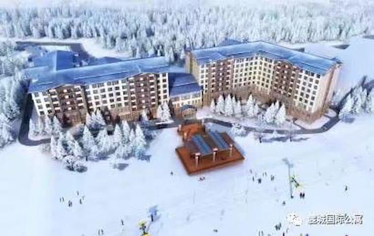 亚布力阳光滑雪场亚布洛尼雪景公寓