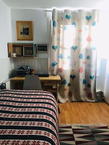 Single bedroom close to Sant Sebastián beach