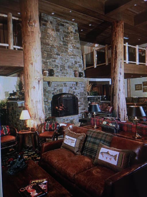 This is the common area of the Teton Club