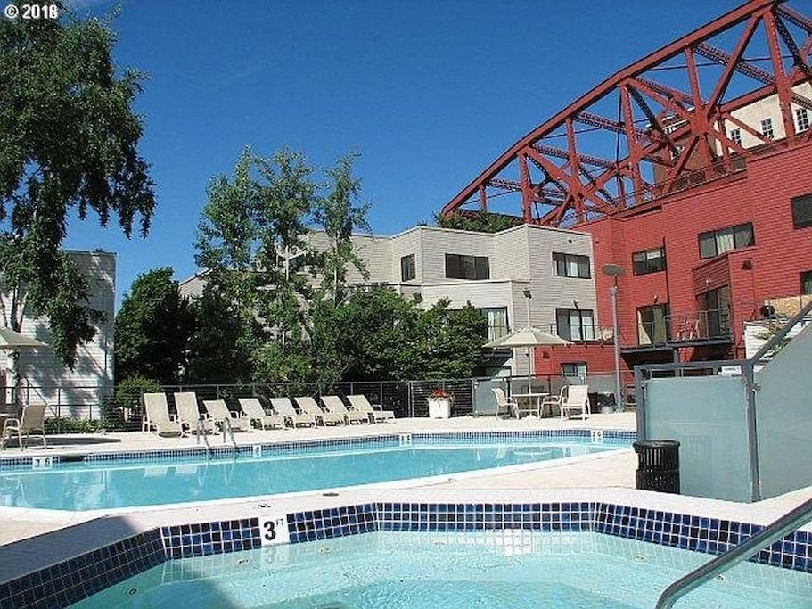 The only condo in downtown Portland with a pool.