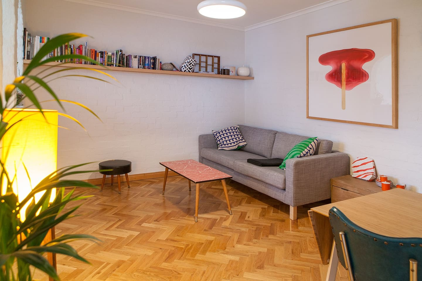 Living Room is spacious and comfortable
