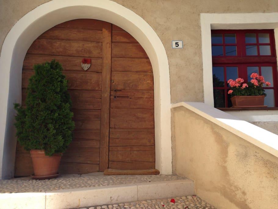 L'entrata di casa