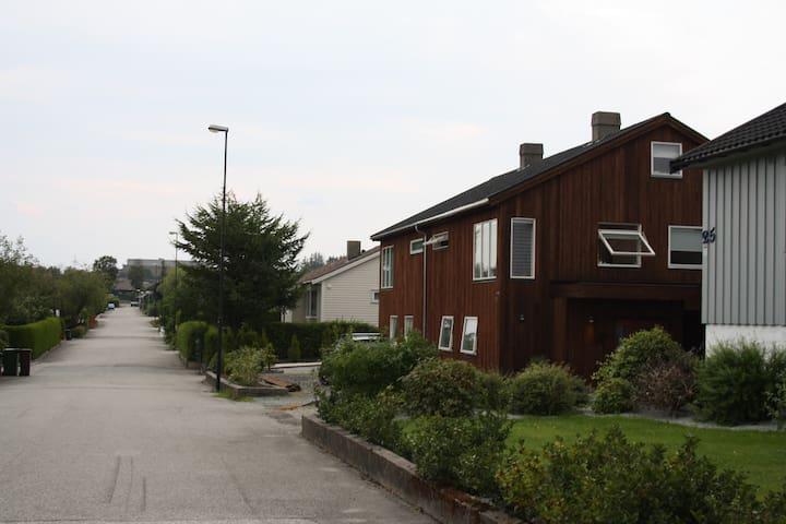 Familyfriendly house near Stavanger