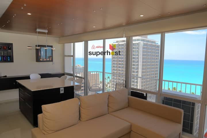 Luxury Ocean-View @ Condado Ashford, free parking