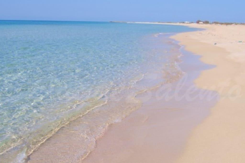 Lido Marini, litorale sabbioso
