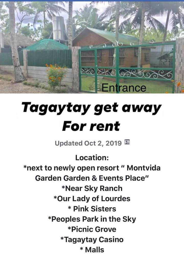 Tagaytay Get Away!