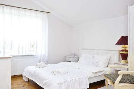 Queen room with shared bathroom - Vilnius