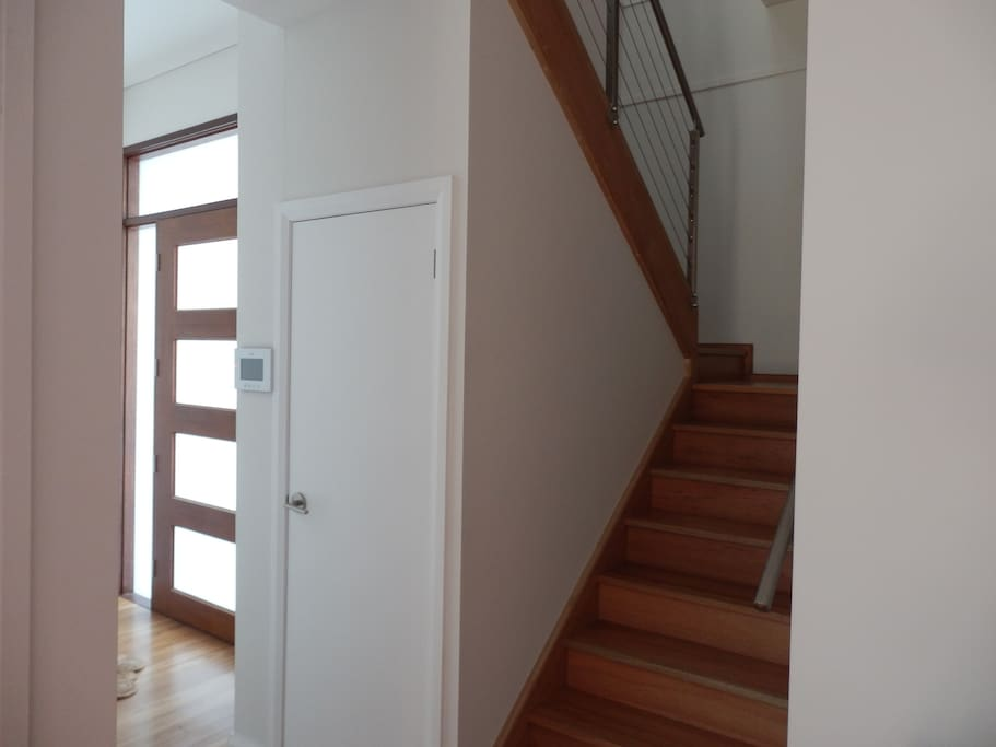 Stairway leading up to 2 New Large Bedrooms