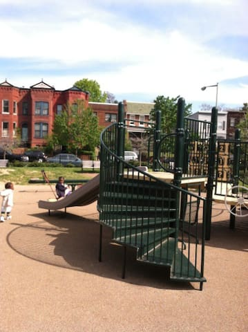 Local playground (one of two within 7-minute walk)