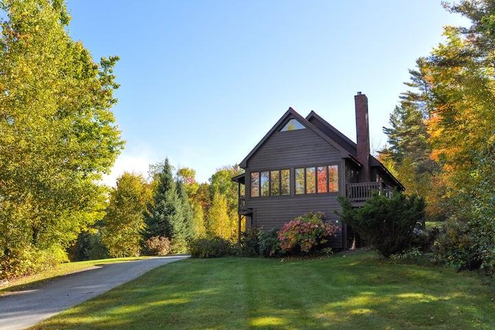 Rustic Elegance Log Home