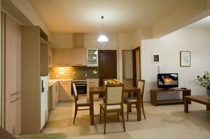 Apartment Spermo with shared pool