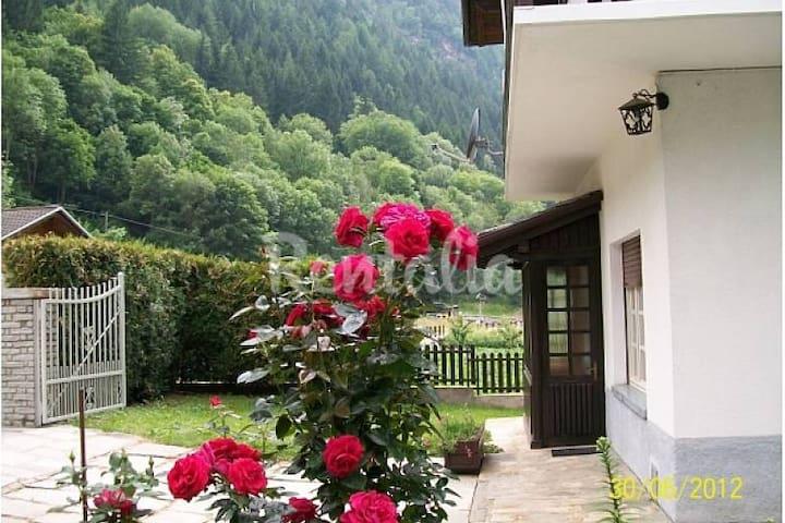 Vista monti e boschi - Aymavilles - Apartment