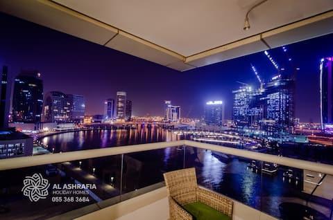 Excelente Waterfront 3 quartos Downtown Dubai