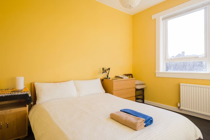 Bright, spacious and cosy guest room