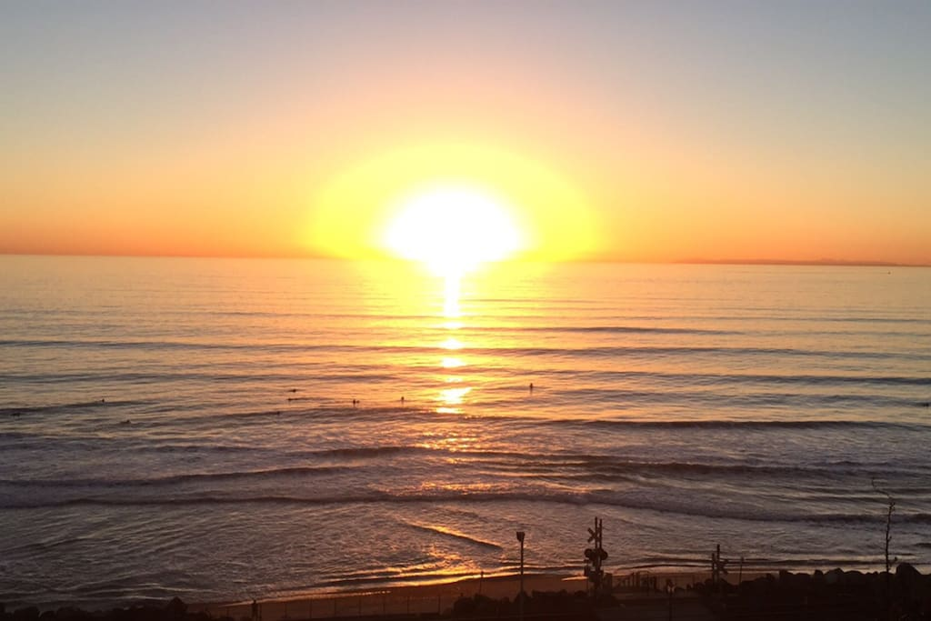 Catch a sunset on the beach