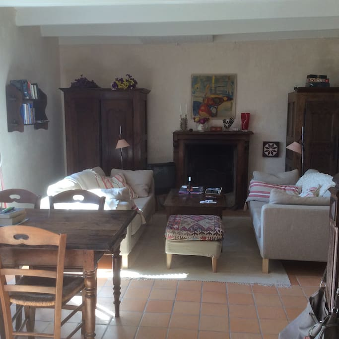 Cosy livingroom and diningroom