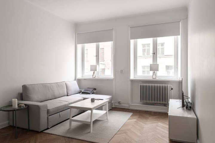 Explore Sthlm from Cozy, Modern Flat on Södermalm