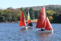 Sailing on Emmarentia Dam