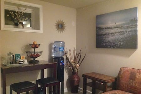 Sunny private lower level in Del Ray - Alexandria