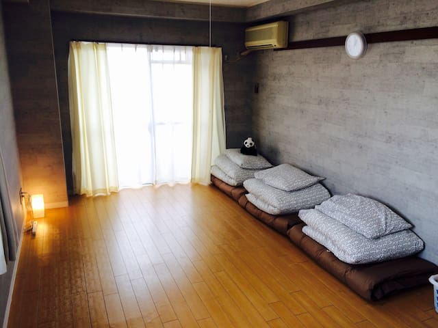 N04.Cheap Accommodation in Nagoya # 301 - Kitanagoya-shi - Lejlighed