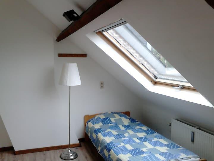 nice room on the upper floor