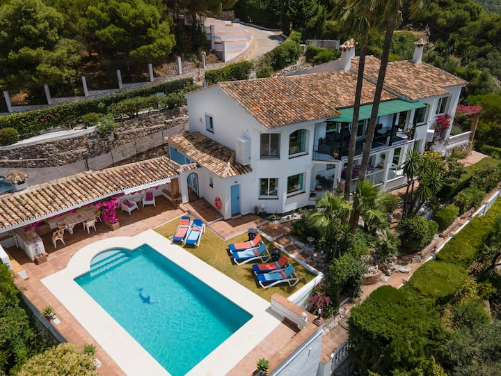 Mijas Pueblo Luxury Villa (for8) Spectacular Views