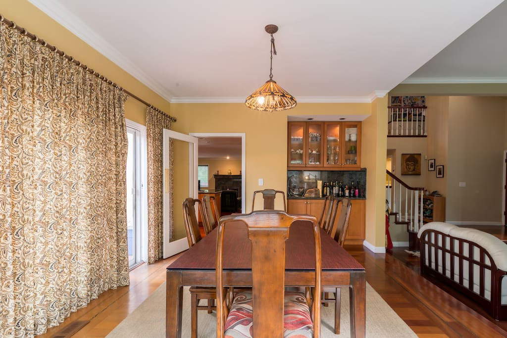 Dinning Room With Entrance To Kitchen