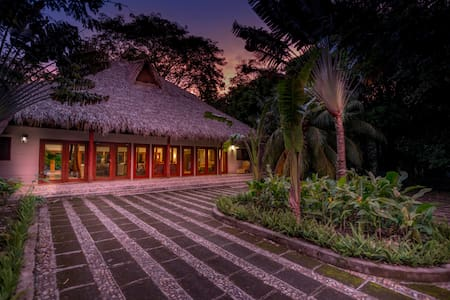 Colonial Home on Beach Front Estate, Pool, Views