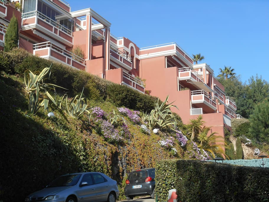Complexe d'appartements