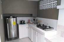 All amenities included ready for you to cook amazing dishes during your holidays! You can also get our recommendations for local food if you are not into cooking :)