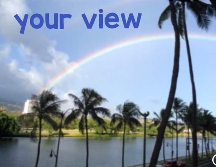 Waikiki, Large, Breezy, 1 Bdrm, Lanai, Parkng,WiFi